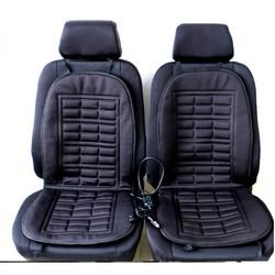 MyXL 2 stks auto levert verwarming Auto stoelhoezen winter auto zitkussen verwarmd blending monolithische warm houden zitkussen <br />  vvcesidot