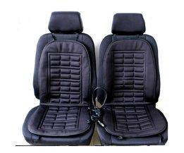 2 stks auto levert verwarming Auto stoelhoezen winter auto zitkussen verwarmd blending monolithische warm houden zitkussen <br />  vvcesidot