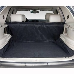 MyXL OntwerpTweeërlei gebruik Waterdichte Oxford Hond Auto Trunk Mat/Back Seat Cover Pet Hangmat Matten Met 4 Bandjes zwart 150x120 cm <br />  FIRSTPLUS