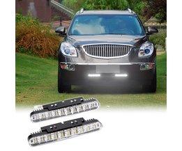 2 stks 30 LEDs Auto Dagrijverlichting DRL Daglicht Lamp met Richtingaanwijzer Lights <br />  KKMOON