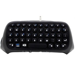 MyXL Mini Draadloze Bluetooth Toetsenbord Key Chatpad Chat Pad voor Sony PlayStation Play Station PS 4 PS4 Game Controller <br />  Bevigac