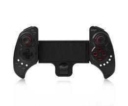 PG 9023 PG9023 Bluetooth Game Controller Gamepad Voor Smartphone iOS Android ipad PC Stretch Joystick met Stand Telescopische <br />  iPEGA