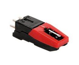 Draaitafel Phono Cartridge w/Stylus Vervanging Zwart & rood voor Vinyl Platenspeler Economische en Duurzaam <br />  OXA