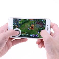 MyXL Mini ultradunne Touchscreen Mobiele Telefoon Joystick voor Telefoon Arcade Games Controller Joystick voor Touch Iphone Android Telefoons <br />  VODOOL