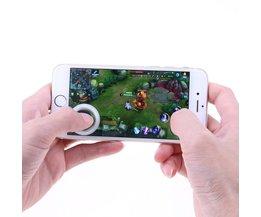 Mini ultradunne Touchscreen Mobiele Telefoon Joystick voor Telefoon Arcade Games Controller Joystick voor Touch Iphone Android Telefoons <br />  VODOOL