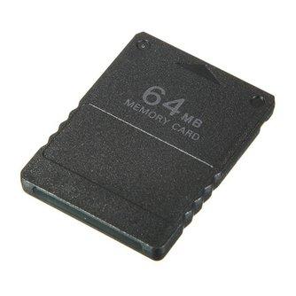 Groothandel Zwart 64 MB 64 MB 64 M Geheugenkaart Spel Opslaan Saver Data Stick Module voor Sony Playstation 2 Voor PS2 Koop <br />  ShirLin