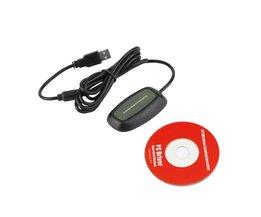 Wireless PC USB 2.0 Ontvanger voor Xbox 360 Controller Gaming USB ontvanger Adapter PC Ontvanger Voor Microsoft voor XBOX 360 met CD <br />  Vention
