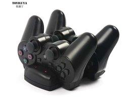 1 stks USB Powered Dual Charging Dock Charger voor Sony PlayStation 3 voor PS3 Move Navigatie en Controllercollectie <br />  TOYILUYA