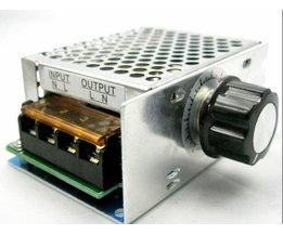 4000 W 220 V Ajuste SCR Spanningsregelaar Controle de Velocidade Doen Motor Dimmer Termostato <br />  HJXY
