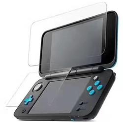 MyXL Voor Nintendo2DS XL/LL 2 DSXL 2 DSLL Console Beschermfolie Guard Premium HD Top & Bottom gehard Glas Screen Protector  <br />  MyXL
