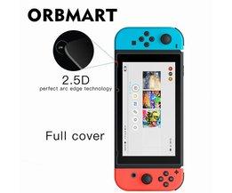 9 H explosieveilige HD Gehard Glas Screen Protector Volledige Cover Beschermende Films Voor Nintendo Schakelaar NS <br />  ORBMART
