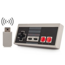 MyXL Voor NES Mini Classic Editie Draadloze USB Plug 2.4 GHz Play Game Controller Gamepad mini NES Controller Met Wrireless Joystick <br />  YTTL