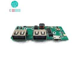 Dual USB 5 V 1A 2.1A Mobiele Power Bank Opladen Printplaat 3.7 V Lithium Batterij Oplader Boost Step Up Voeding Module PCB <br />  MyXL