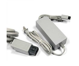 US/EU Plug 100-240 V DC 12 V 3.7A Home Muur Voeding AC Charger Adapter Kabel voor Nintendo Wii Game Console Host <br />  KomoKe