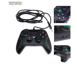USB Bedrade Controller Controle Voor Microsoft Xbox Een Controller Gamepad Voor Xbox Een Voor Windows PC Joystick <br />  TECTINTER