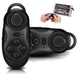 MyXL Draadloze Bluetooth Game Controller Multifunctionele Gamepad Voor iOS Android Smartphones Self Timer Selfie Afstandsbediening Sluiter Muismat <br />  ANBES