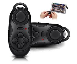 Draadloze Bluetooth Game Controller Multifunctionele Gamepad Voor iOS Android Smartphones Self Timer Selfie Afstandsbediening Sluiter Muismat <br />  ANBES