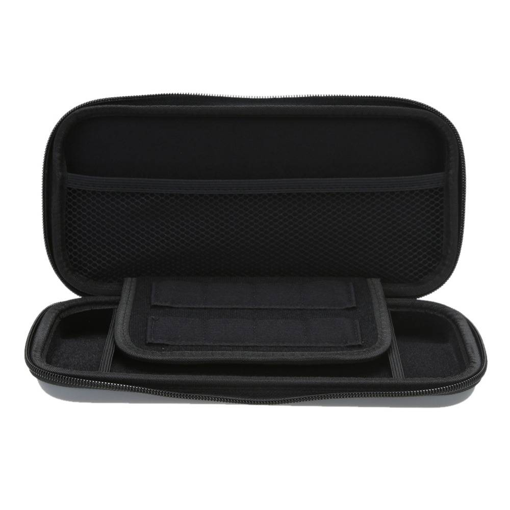 Harde EVA Reizen Draagbare case Beschermhoes Opslag Zip Opbergtas voor Nintendo Switch Console   ALL