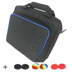 MyXL Case Tas Voor PS4 Slim Console Grote Reizen Case Opslag Beschermende Draagtas Voor PS4 gastheer console + 6 siliconen Caps <br />  myohya