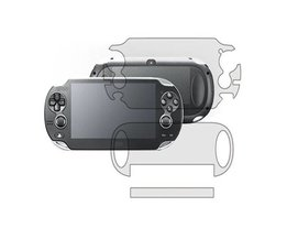 Speciale AanbiedingClear Full Body LCD Screen Protector Guard Cover Voor Sony PS Vita Voor PSV + Clearing doek <br />  ShirLin