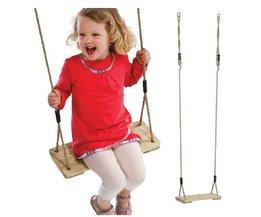 Houten Baby Kids Swing voor Kinderen Plaat Speelgoed Outdoor Fun & Sport Gezondheid Verbeteren <br />  MyXL