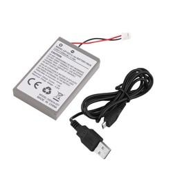 MyXL Professionele 2000 mAh Oplaadbare Batterij Extended Power Vervanging Voor PS4 Controller Met Kabel <br />  ONLENY