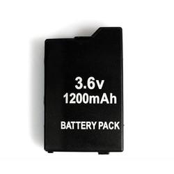 MyXL Game accessoires voor Een PSP Batterij + Een PSP Reizen Draagtas, Case Tas Voor Alle SONY PSP-2000, 3000 <br />  BLACK HORNS
