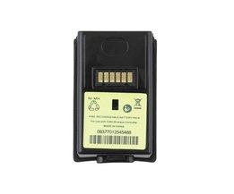 4800 mAh Oplaadbare Batterij voor Xbox 360 Wireless Controller Black Dual <br />  ONLENY