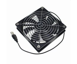 Gdstime voor TV Box Router Koelventilator Stille 120mm DC 5 V USB Power 120*120*25mm Rustig Cooler <br />  MyXL