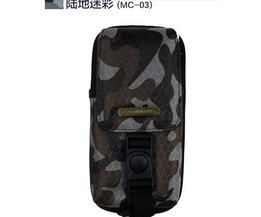 Game accessoires voor Een PSP Batterij + Een PSP Camouflage Reizen Draagtas, Case Tas Voor Alle SONY PSP-2000, 3000 <br />  BLACK HORNS