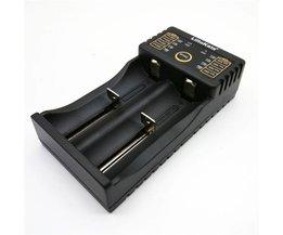 Liitokala Lii-202 18650 acculader 1.2 V 3.7 V 3.2 V 3.85 V AA/AAA 26650 10440 14500 16340 25500 smart charger lii202 <br />  liitokala