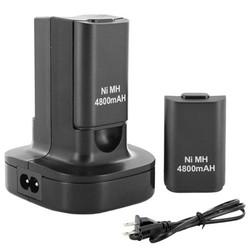 MyXL Top SellingDual Charger Dock Station 2 Oplaadbare Batterij 4800 mAh voor Xbox 360 Controller <br />  ShirLin