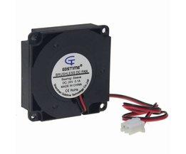2 STKS Gdstime Voor 3D Printer Onderdelen 40mm x 40mm x 10mm 4 cm 24 V 4010 40mm DC Cooling Turbo Ventilator <br />  MyXL