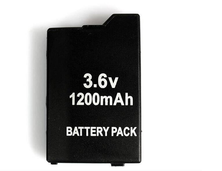 Game accessoires voor Twee PSP Batterijen + Een PSP Reizen Draagtas, Case Tas Voor Alle SONY PSP-200