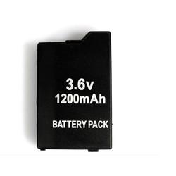 MyXL Game accessoires voor Twee PSP Batterijen + Een PSP Reizen Draagtas, Case Tas Voor Alle SONY PSP-2000, 3000  <br />  <br />  BLACK HORNS