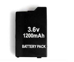 Game accessoires voor Twee PSP Batterijen + Een PSP Reizen Draagtas, Case Tas Voor Alle SONY PSP-2000, 3000  <br />  <br />  BLACK HORNS