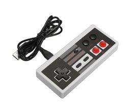 Draadloze 2.4 GHz Gaming Controller Gamepad Voor NES Classic Mini Editie Voor Nintendo Voor NES Mini Met Turbo Knop Joystick <br />  ShirLin