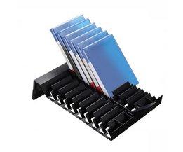 Originele mutilfunction standhouder koelventilator stands w/usb opslag voor xbox one s met laadstation grote kerstcadeau <br />  VODOOL