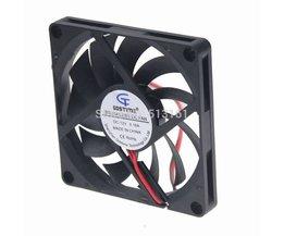 2 stks/partij Gdstime DC 8010 12 V Cooler 80*80x10mm 8 cm Glijlager Computer CPU Koelventilator <br />  gdstime