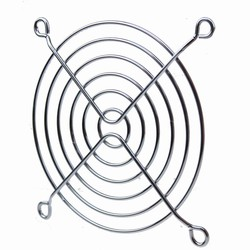 MyXL 5 stks Lot Gdstime 90mm 9 cm 3.5 inches Rvs Metalen Fan Grill Netto <br />  gdstime