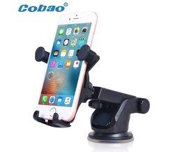 Universele Dashboard Auto Telefoon Houder 360 Graden Verstelbare Voorruit Mobiele Telefoon Houder Stand Mount voor iPhone 5 6 Samsung HTC <br />  Cobao