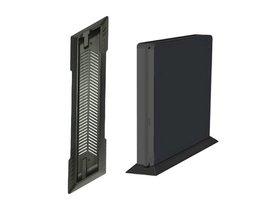 Antislip Slanke Verticale Stand Dock Bed Foundation Mount Supporter Base Holder Sony PS4 Slim Game Console <br />  ALLOYSEED