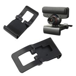 MyXL Zwarte TV Clip Beugel Verstelbare Mount Houder Stand Voor Sony Playstation 3 PS3 Move Controller Eye Camera Groothandel <br />  OXA