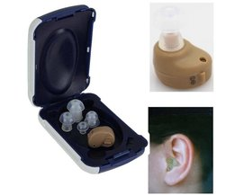 Draagbare Audiphones Mini Hoortoestellen Verstelbare Tone gehoorapparaat Kleine In De Ear Invisible Beste Geluidsversterkers Ear Care Tools <br />  Axon