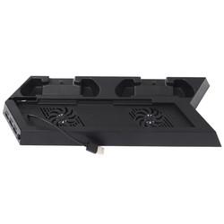 MyXL Alle-in-een dual cooler fans koeling station verticale stand met 2 controller opladen dock station voor playstation 4 voor ps4 <br />  ALLOYSEED