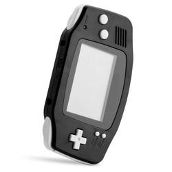 MyXL Voor GBA Frame Onderdelen Volledige Set Behuizing Shell Case Cover Voor Nintendo Voor GameBoy Advance Effen Zwarte Repalcement Onderdelen <br />  <br />  ShirLin