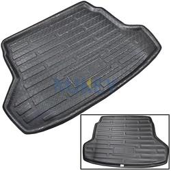 MyXL Cargo Mat Voor Hyundai Accent Verna Solaris Sedan 2011 201220142016Kofferbak Laadvloerbekleding Tray Floor Pad tapijt <br />  MISIMa