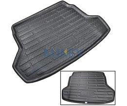 Cargo Mat Voor Hyundai Accent Verna Solaris Sedan 2011 201220142016Kofferbak Laadvloerbekleding Tray Floor Pad tapijt <br />  MISIMa