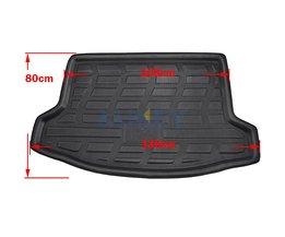 Fit Voor Subaru XV Crosstrek 2012 20132015Boot Mat Kofferbak Lijnvrachtverkeer Tray Floor Tapijt Modder Kick Protector <br />  MISIMa