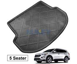 Fit Voor Hyundai IX45 Santa Fe 5 Zits20142016Kofferbak Vloermat Cargo Lade Boot Liner Tapijt Protector <br />  MISIMa
